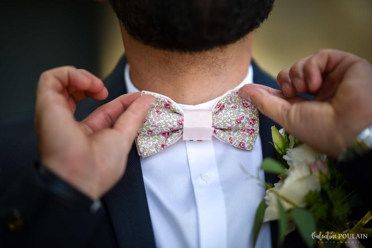 Mariage fun kermesse party - Valentine Poulain noeud