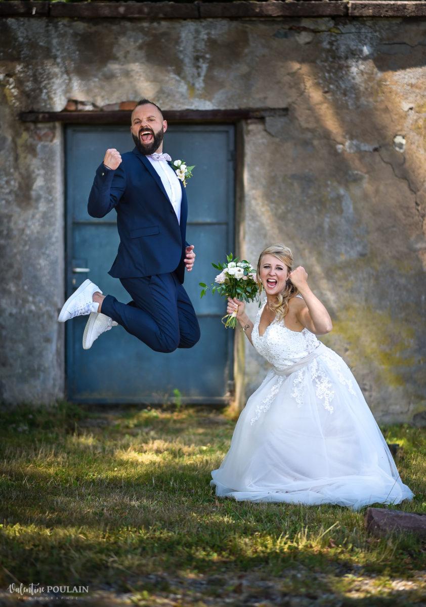 Mariage fun kermesse party - Valentine Poulain saut