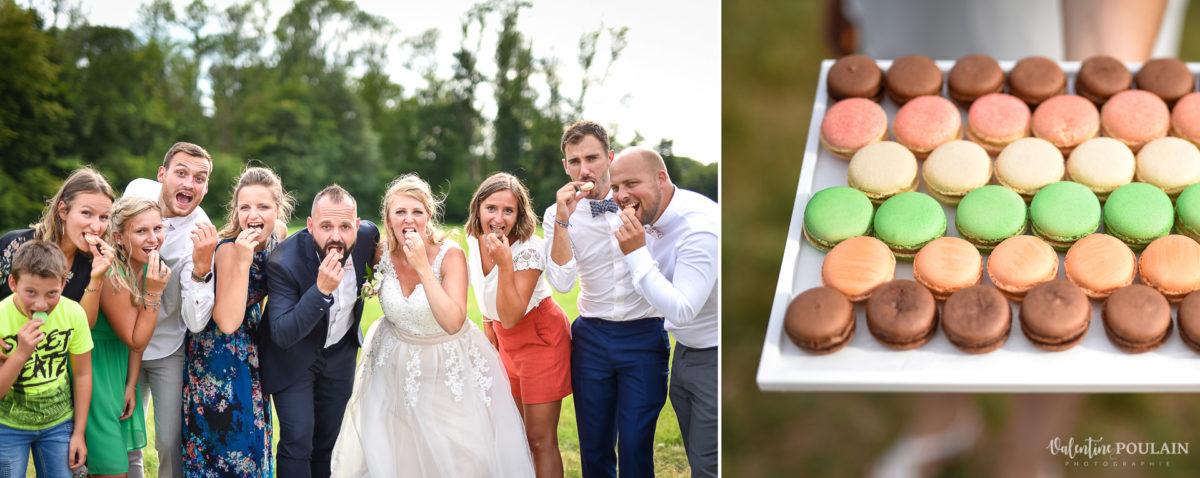 Mariage fun kermesse party - Valentine Poulain macaron