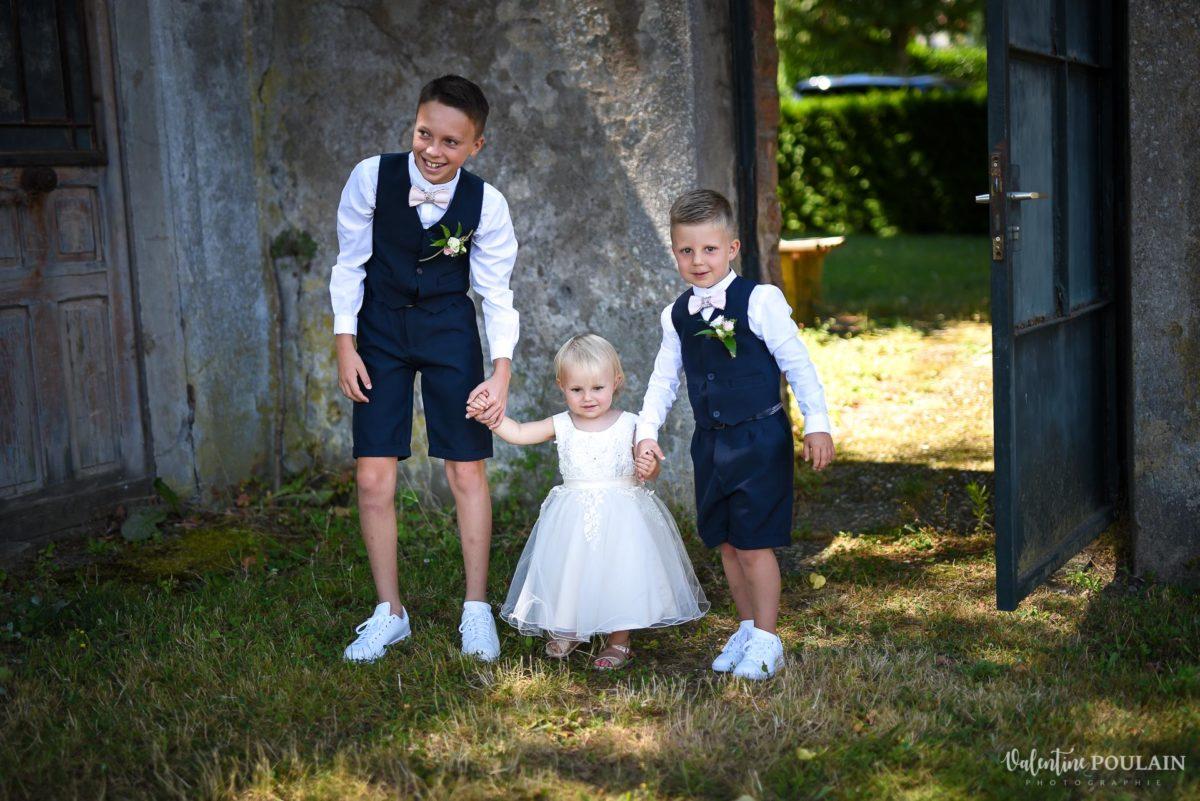 Mariage fun kermesse party - Valentine Poulain 3 enfants