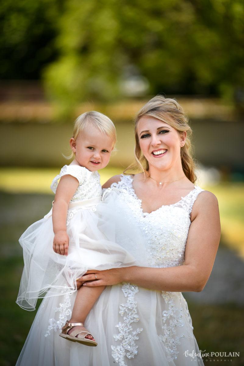Mariage fun kermesse party - Valentine Poulain mère et fille