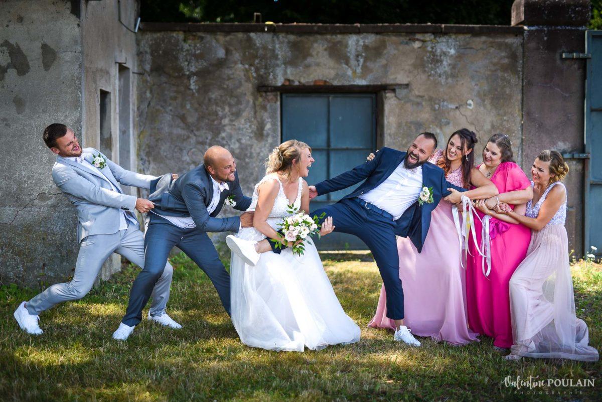 Mariage fun kermesse party - Valentine Poulain bataille