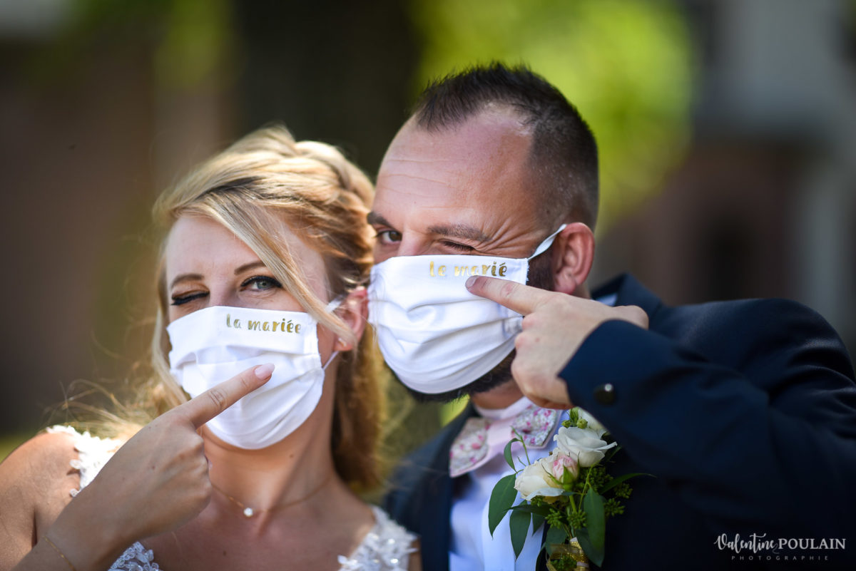 Mariage fun kermesse party - Valentine Poulain masques