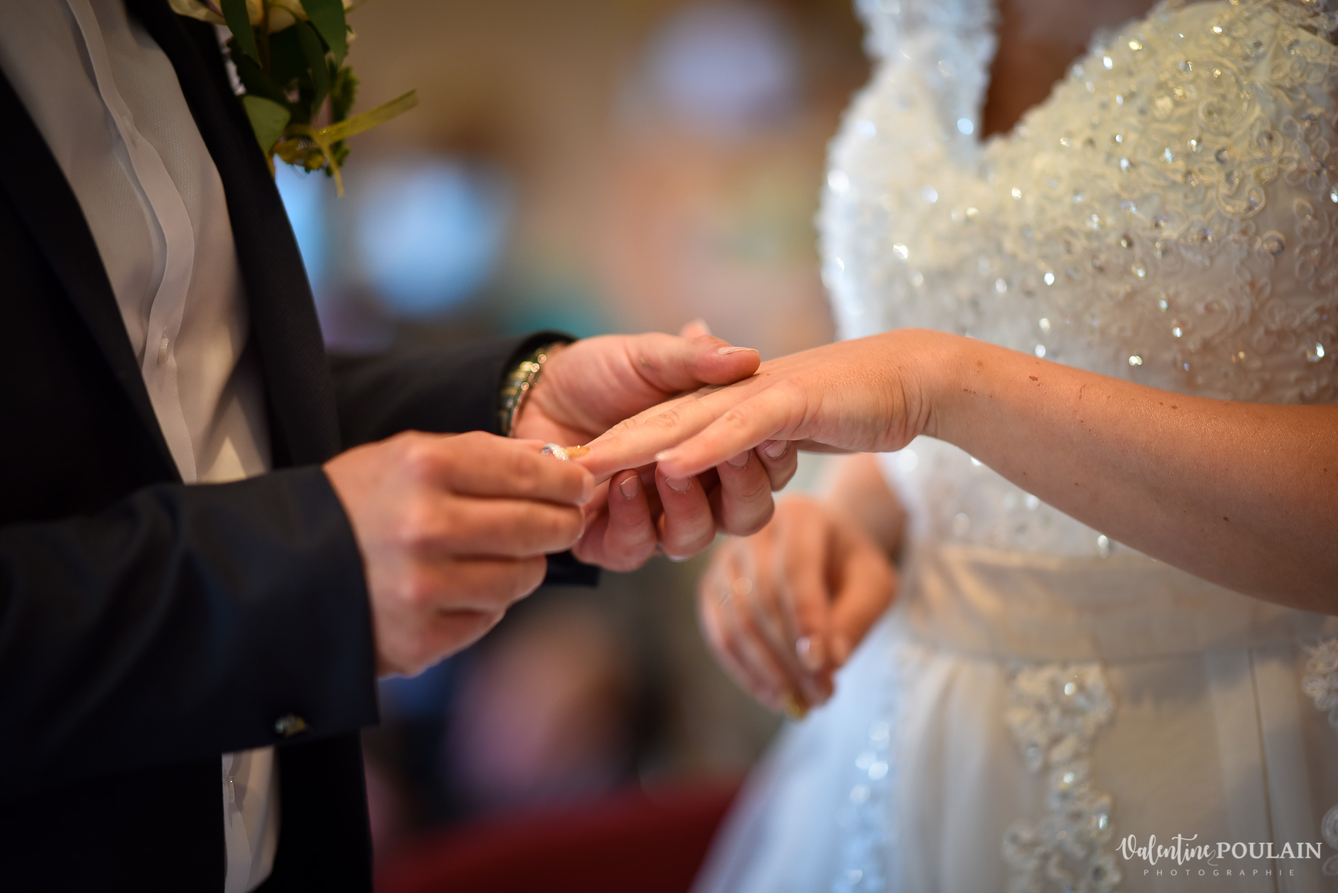 Mariage fun kermesse party - Valentine Poulain alliance