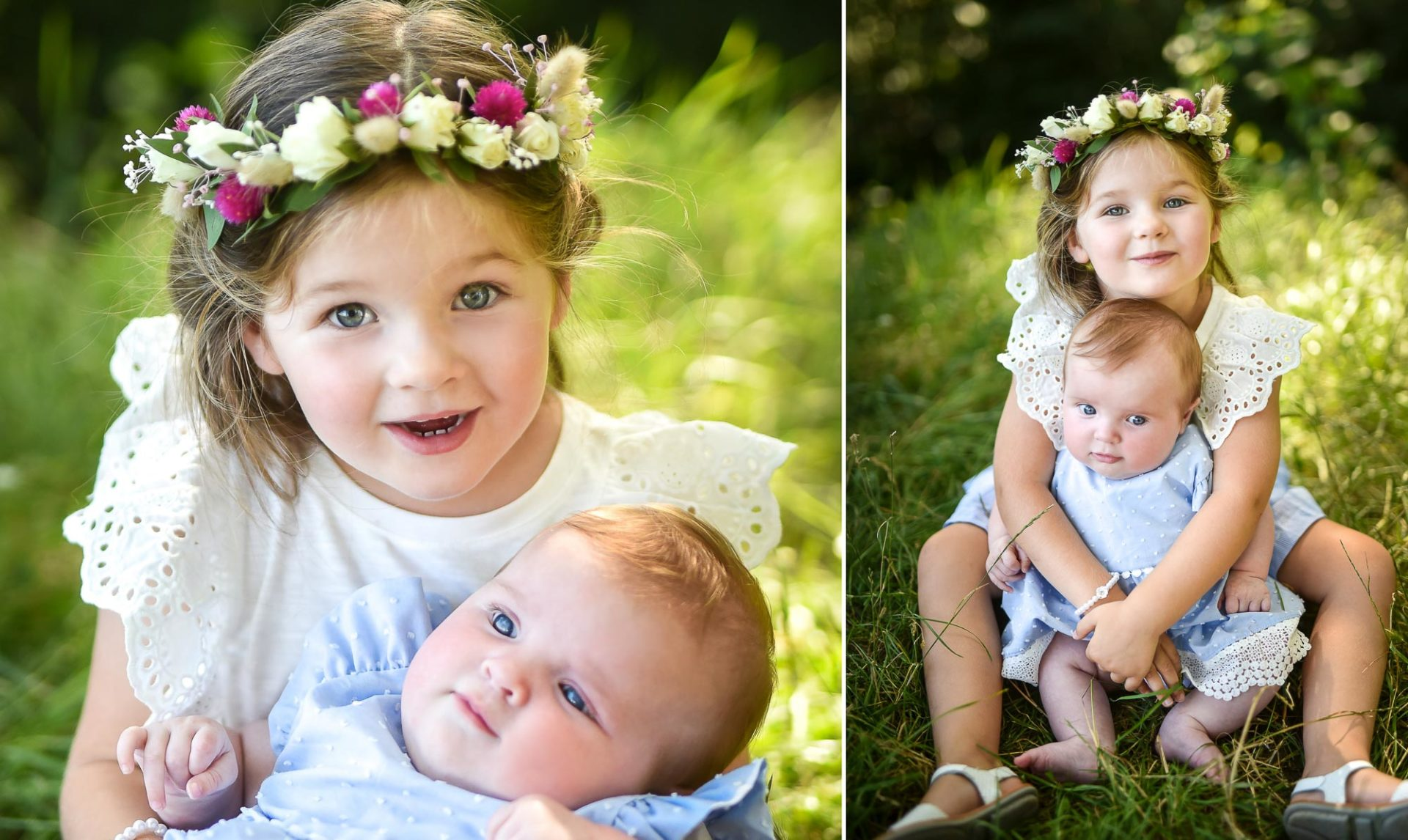 Shooting famille soeurs serre - Valentine Poulain 2 filles