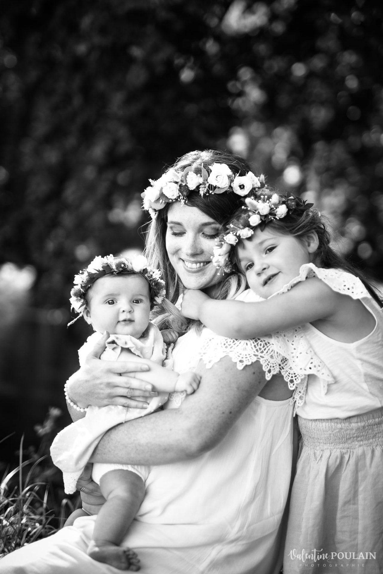 Shooting famille soeurs serre - Valentine Poulain amour