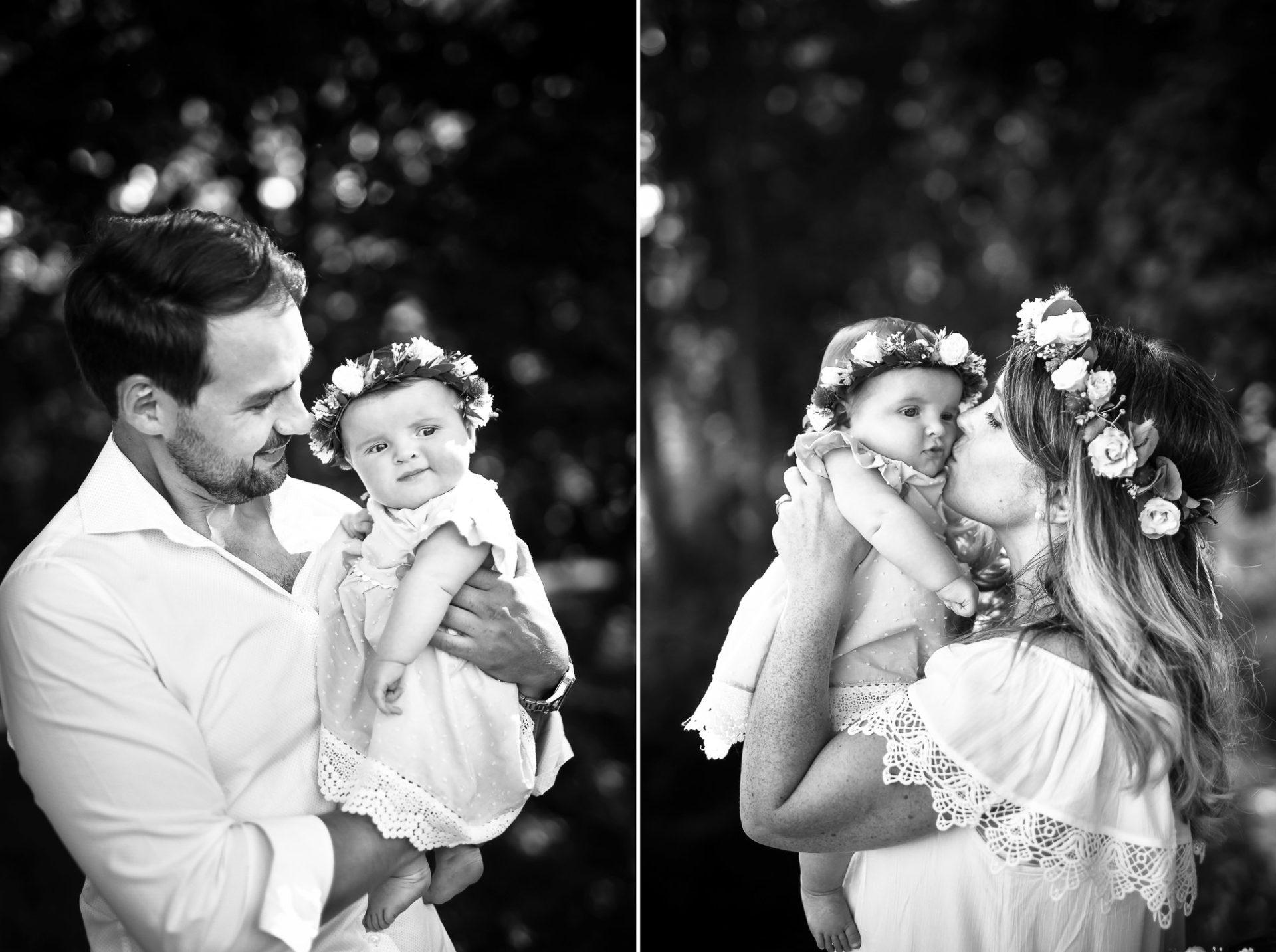 Shooting famille soeurs serre - Valentine Poulain père mère