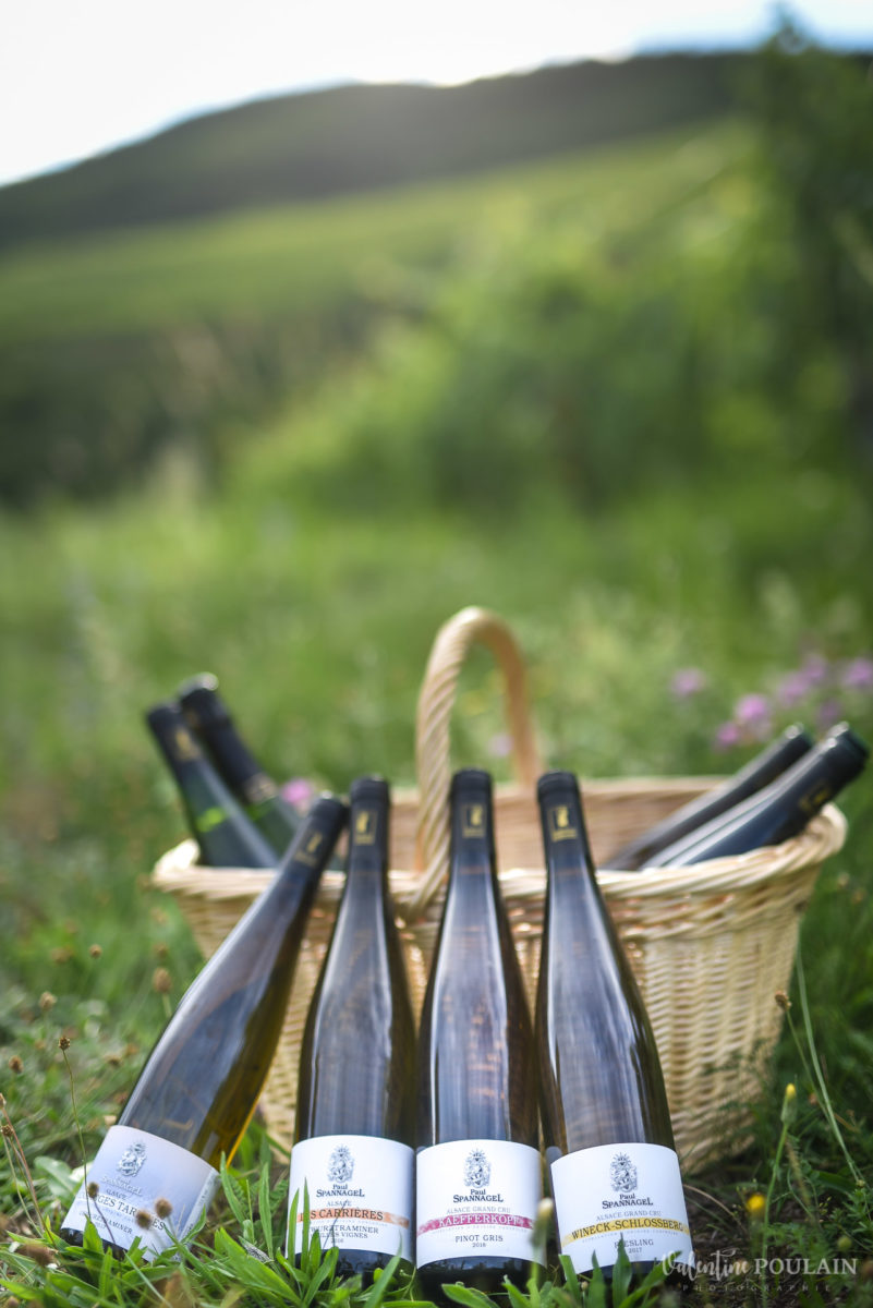 bouteilles photo corporate Domaine vigneron - Valentine Poulain