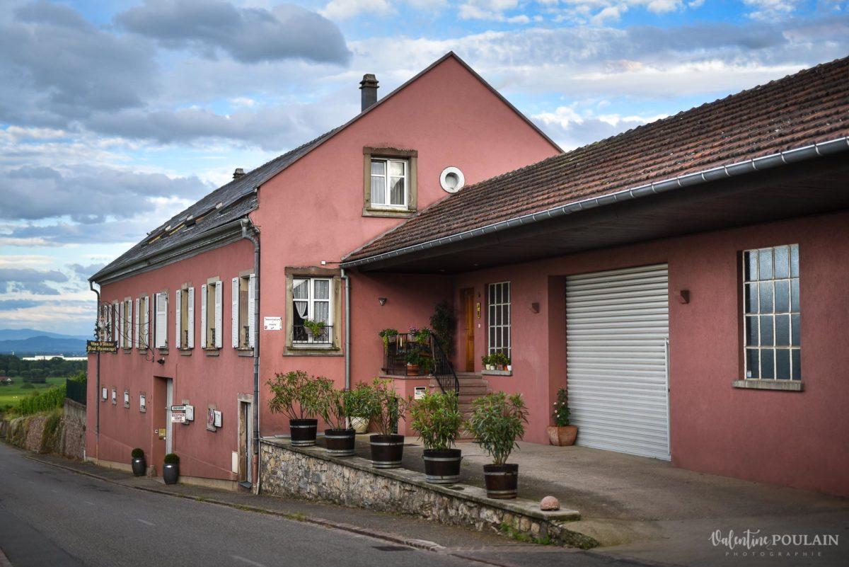 maison vue photo corporate Domaine vigneron - Valentine Poulain