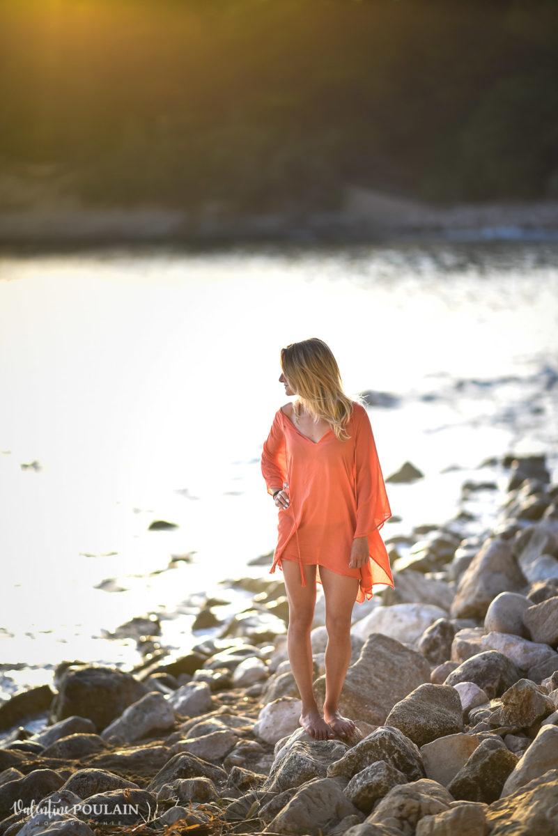 Shooting Portrait Calanques plage Sud - Valentine Poulain