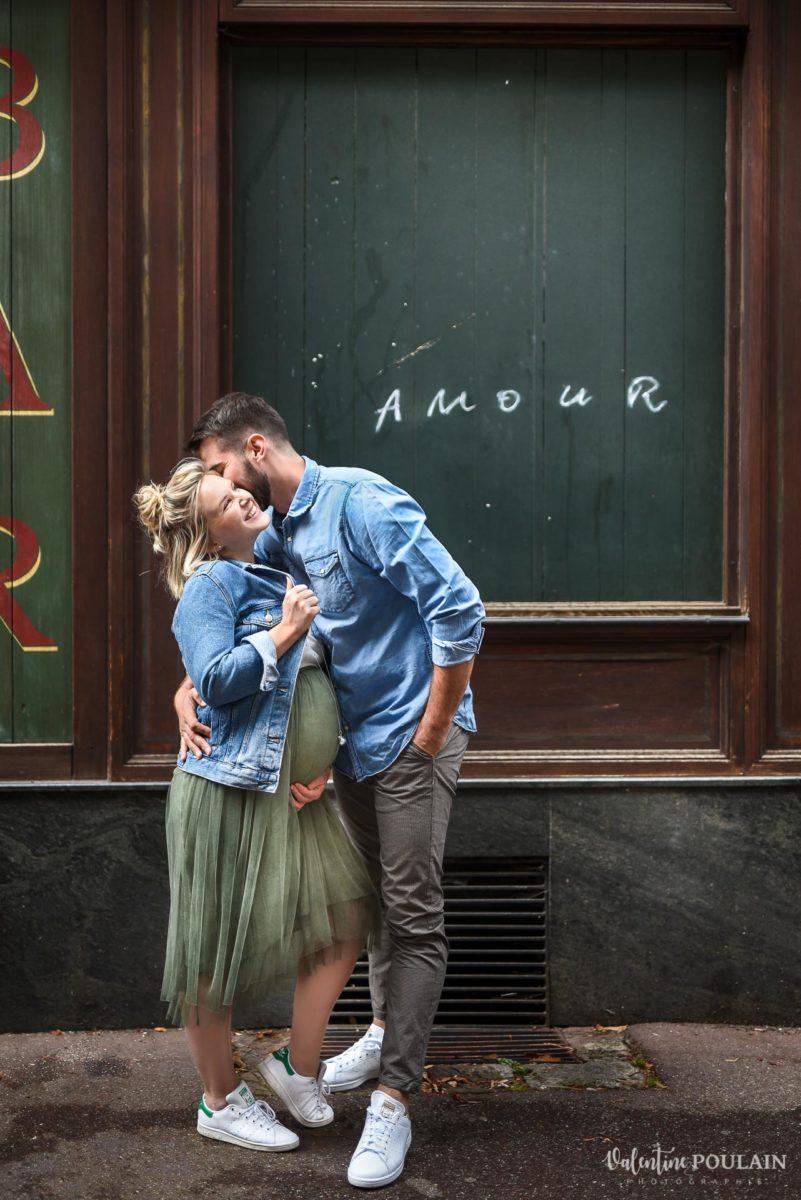 Amour street grossesse - Valentine Poulain