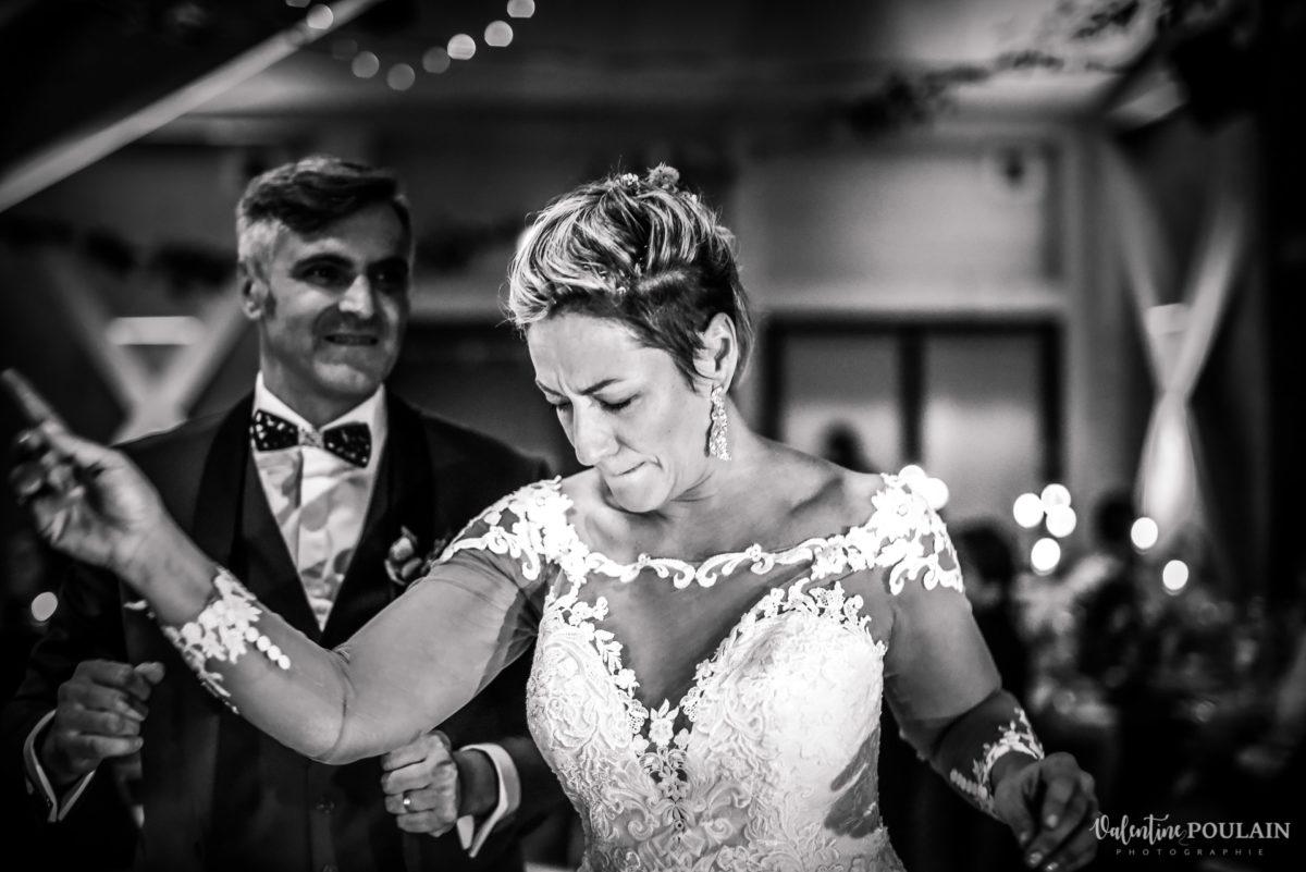 Mariage rock automne Domaine du Hirtz - Valentine Poulain soirée danse