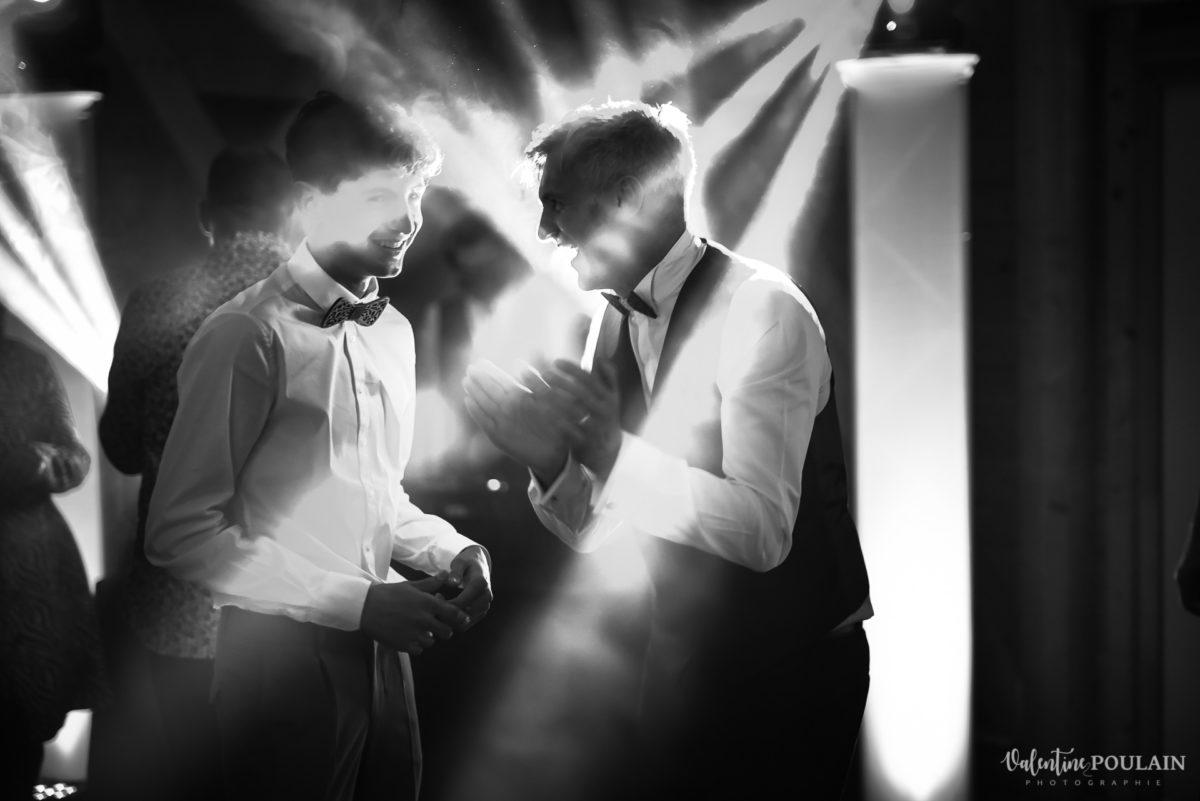 Mariage rock automne Domaine du Hirtz - Valentine Poulain soirée lumières