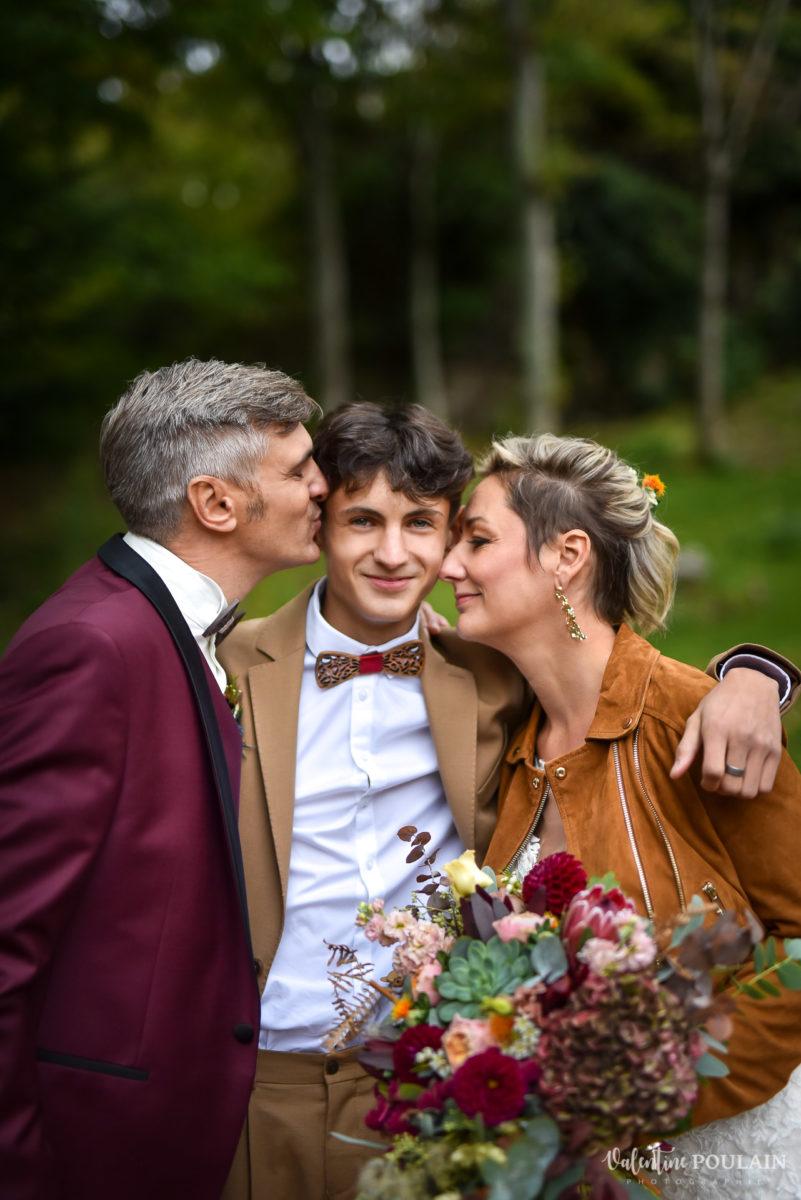 Mariage rock automne Domaine du Hirtz - Valentine Poulain famille