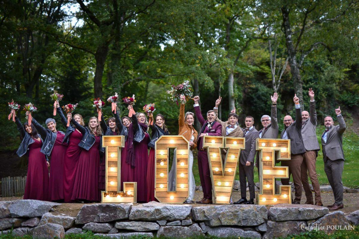 Mariage rock automne Domaine du Hirtz - Valentine Poulain LOVE