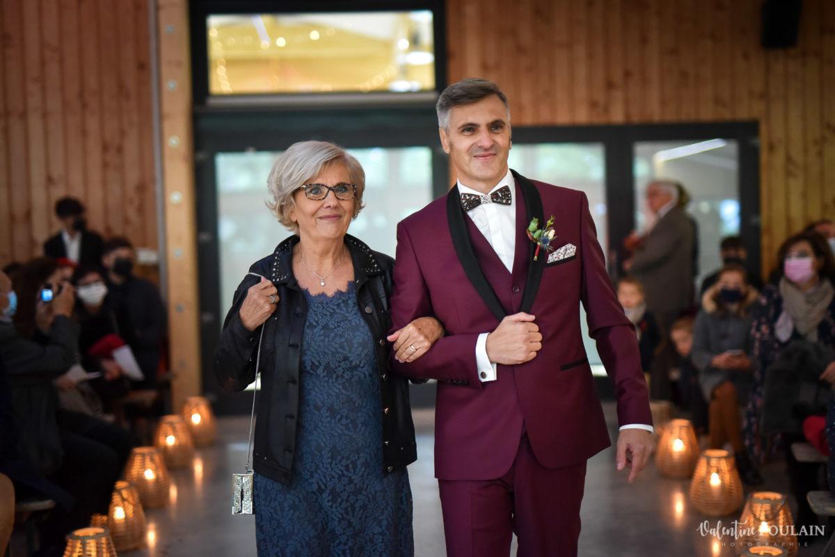 Mariage rock automne Domaine du Hirtz - Valentine Poulain mère