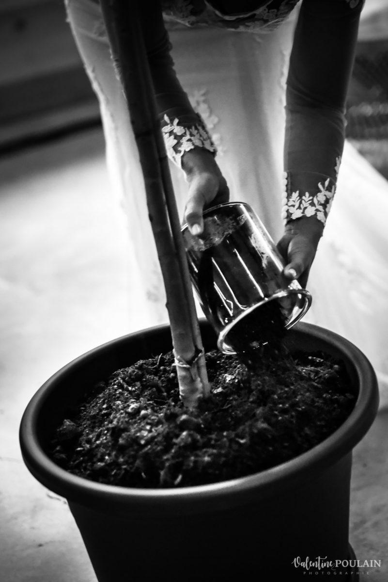 Mariage rock automne Domaine du Hirtz - Valentine Poulain cérémonie laïque rituel