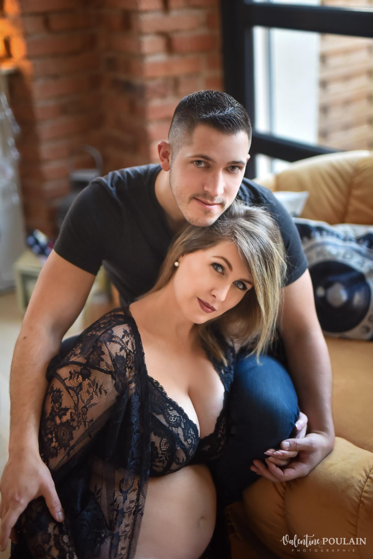 couple boudoir loft - Valentine Poulain