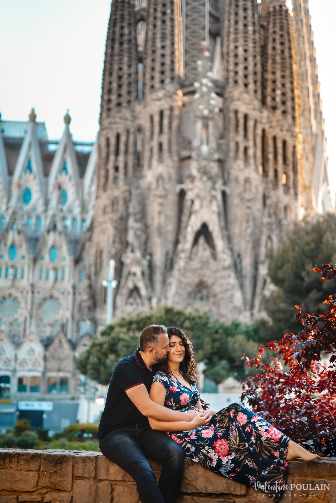 Séance photo couple Barcelone - Valentine Poulain Sagrada
