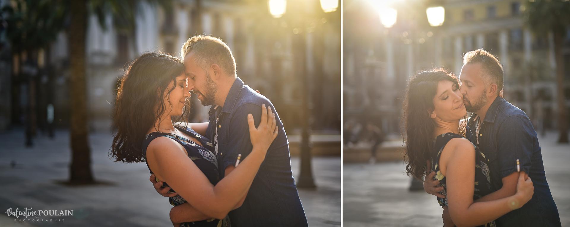 Seance photo couple Barcelone - Valentine Poulain love LIGHTS