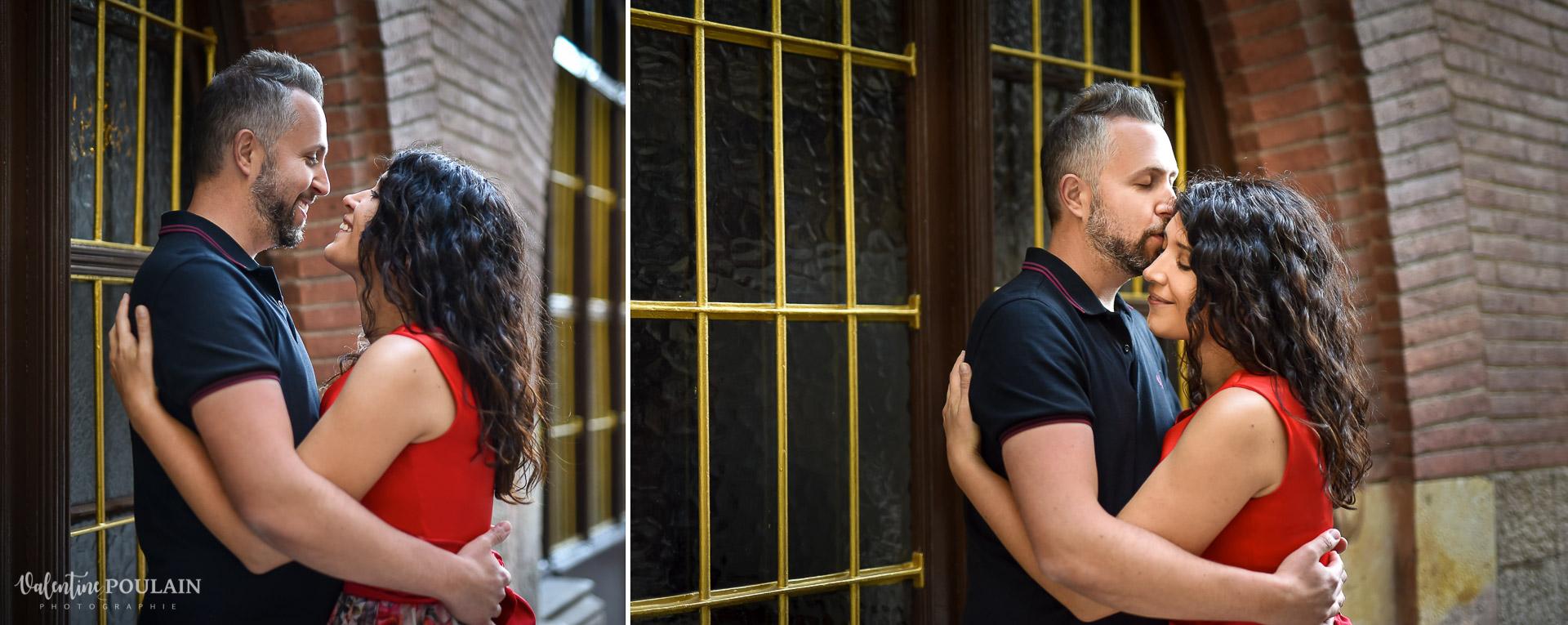 Seance photo couple Barcelone - Valentine Poulain love