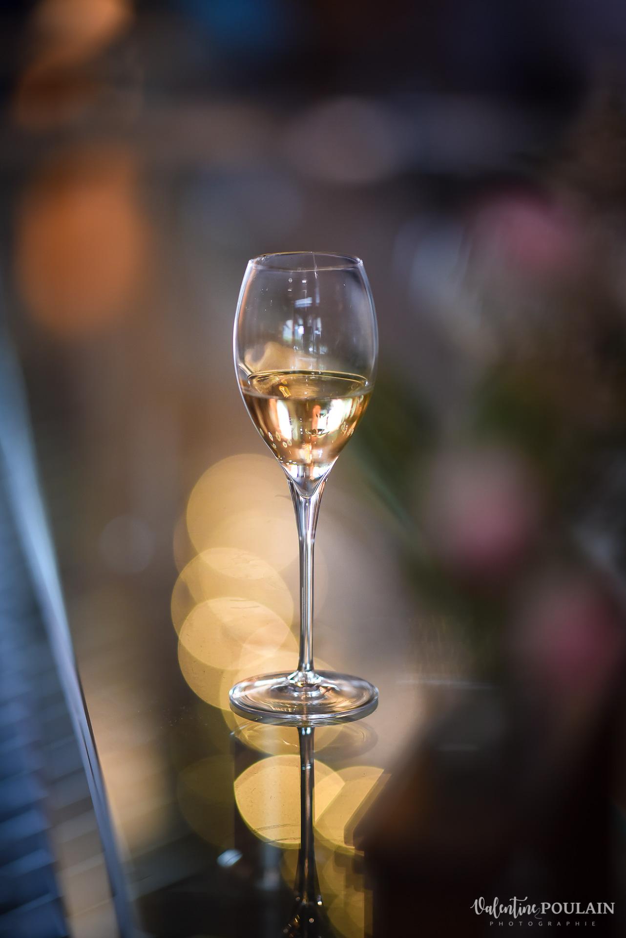 Mariage domaine viticole Domaine Achillée - verre