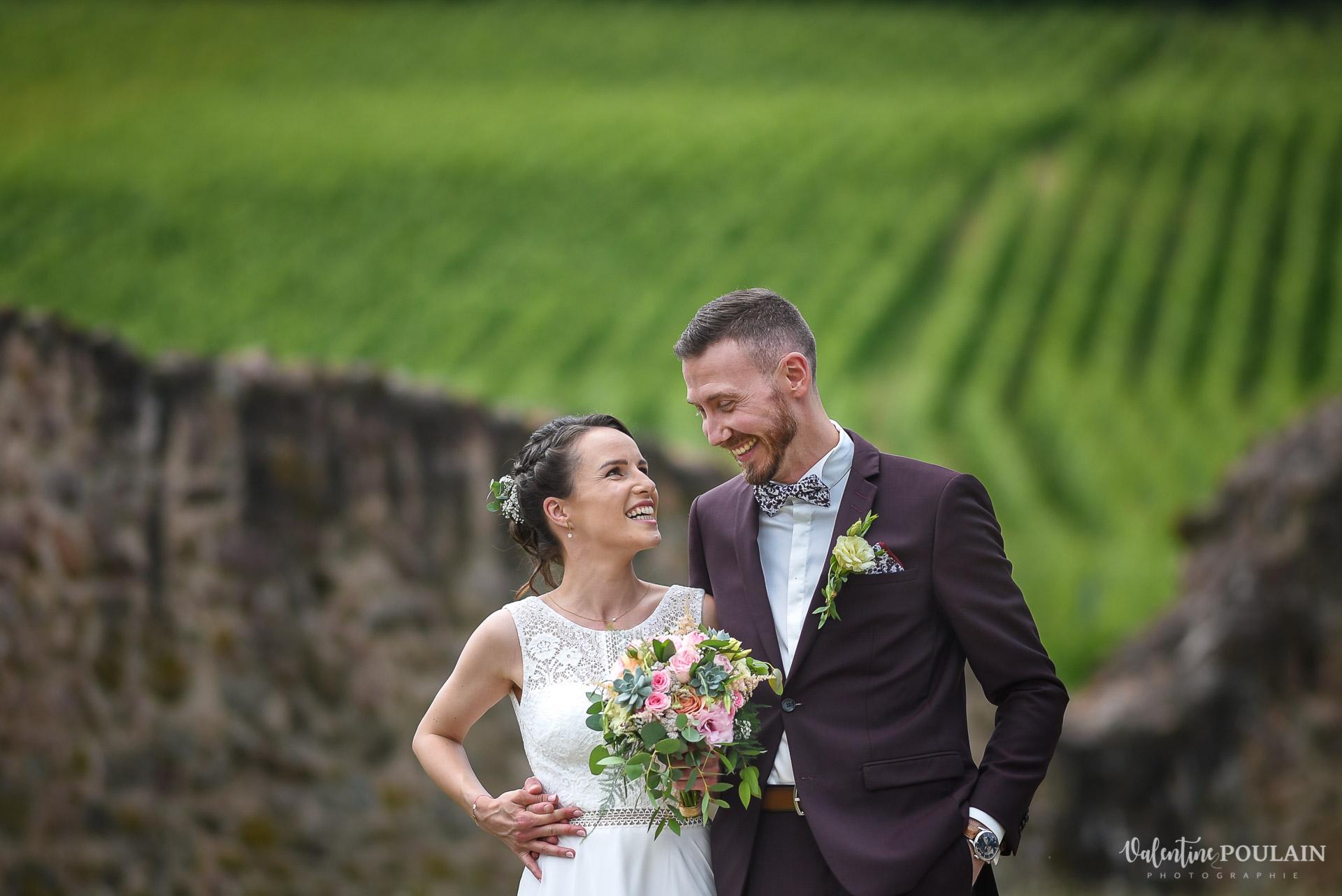 Mariage Domaine viticole Achillée - Valentine Poulain vignes