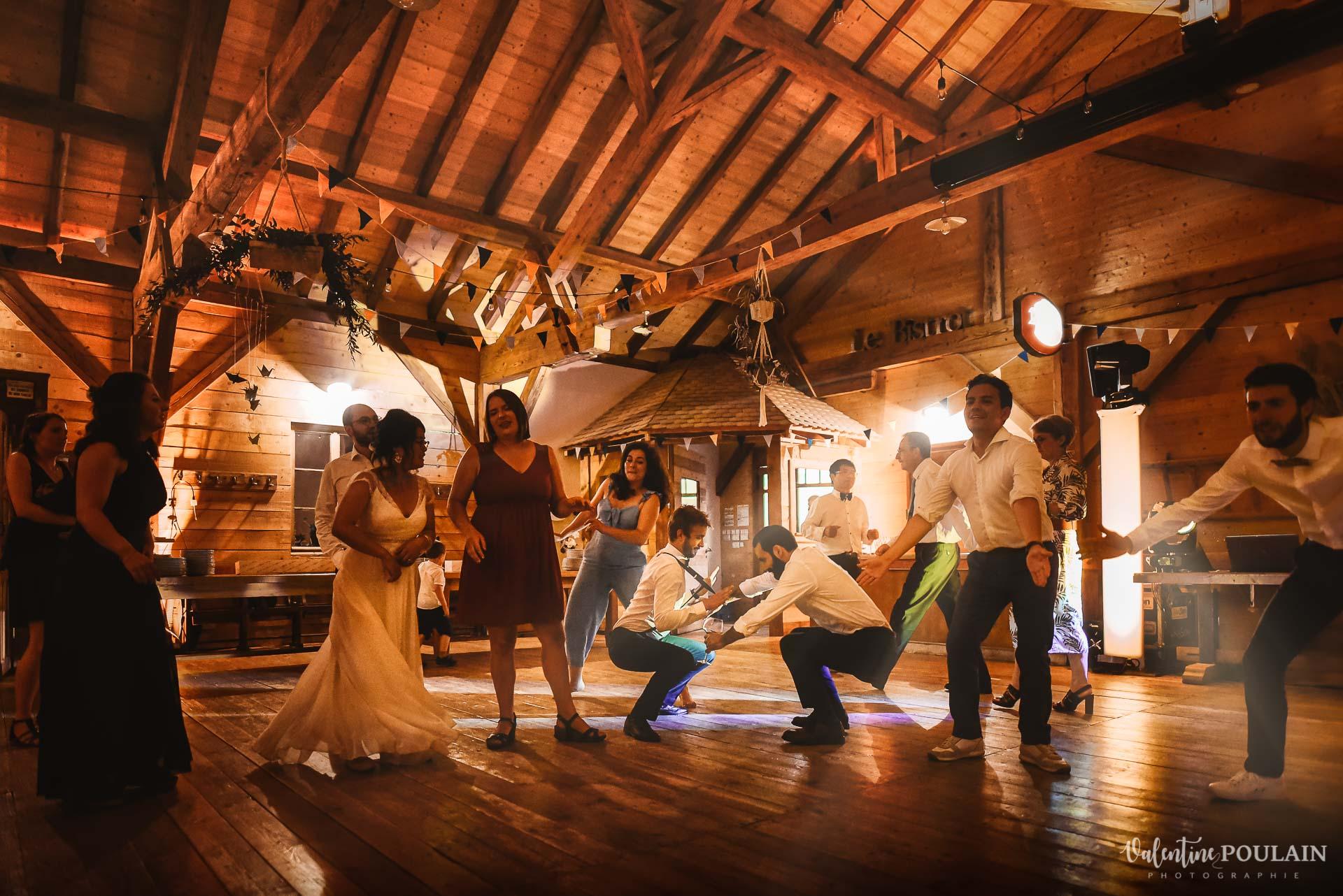 Mariage La Drille au bord de l'eau - Valentine Poulain danses