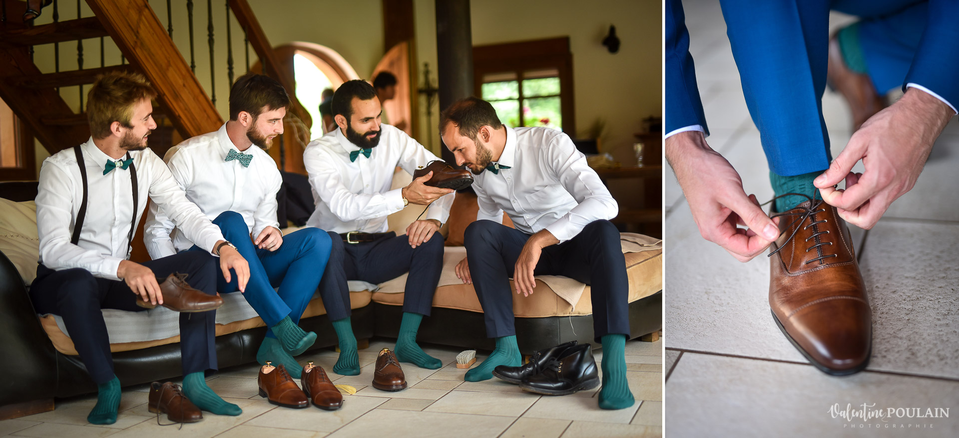 Mariage La Drille au bord de l'eau - Valentine Poulain pieds