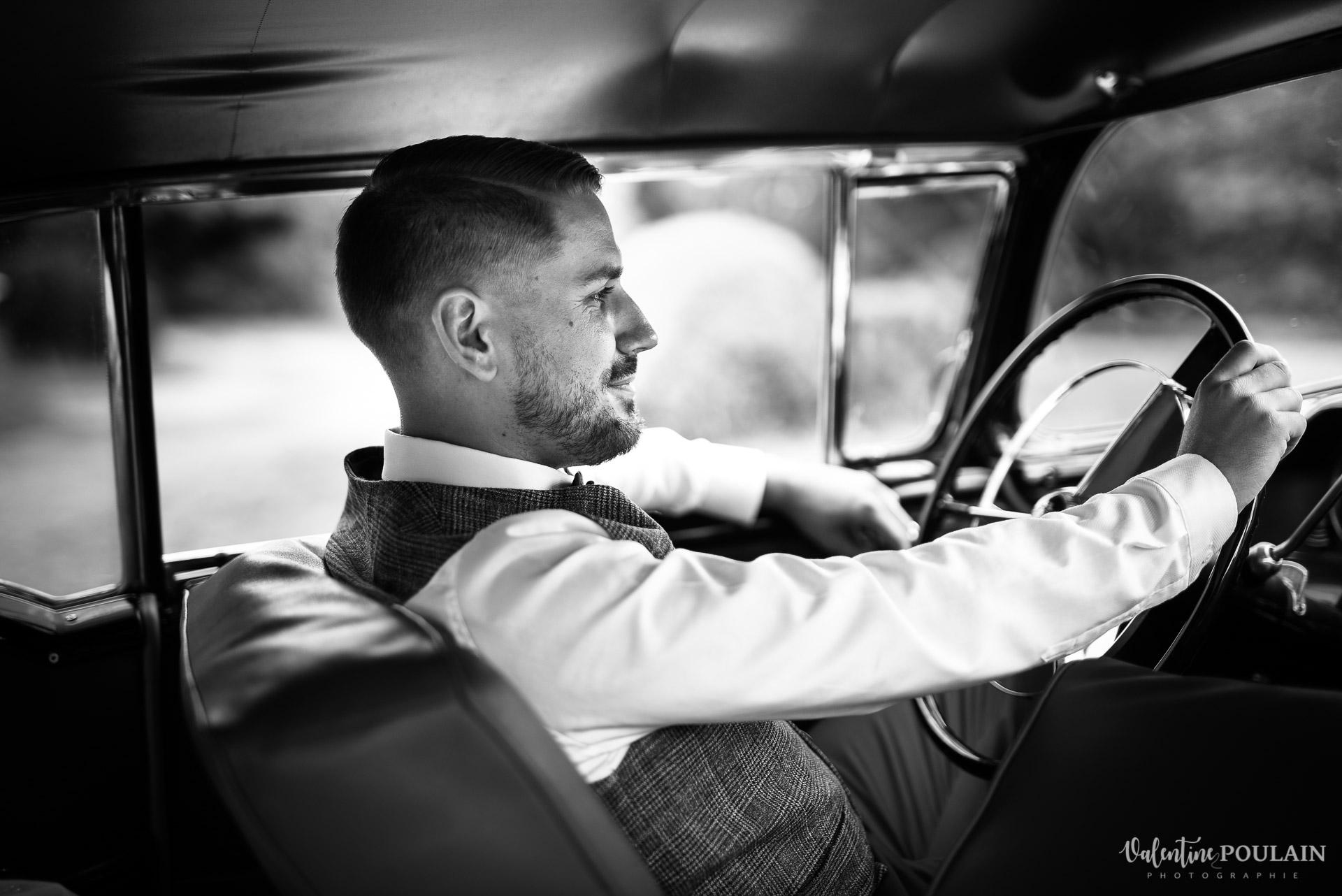 Mariage vintage rockabilly - Valentine Poulain volant