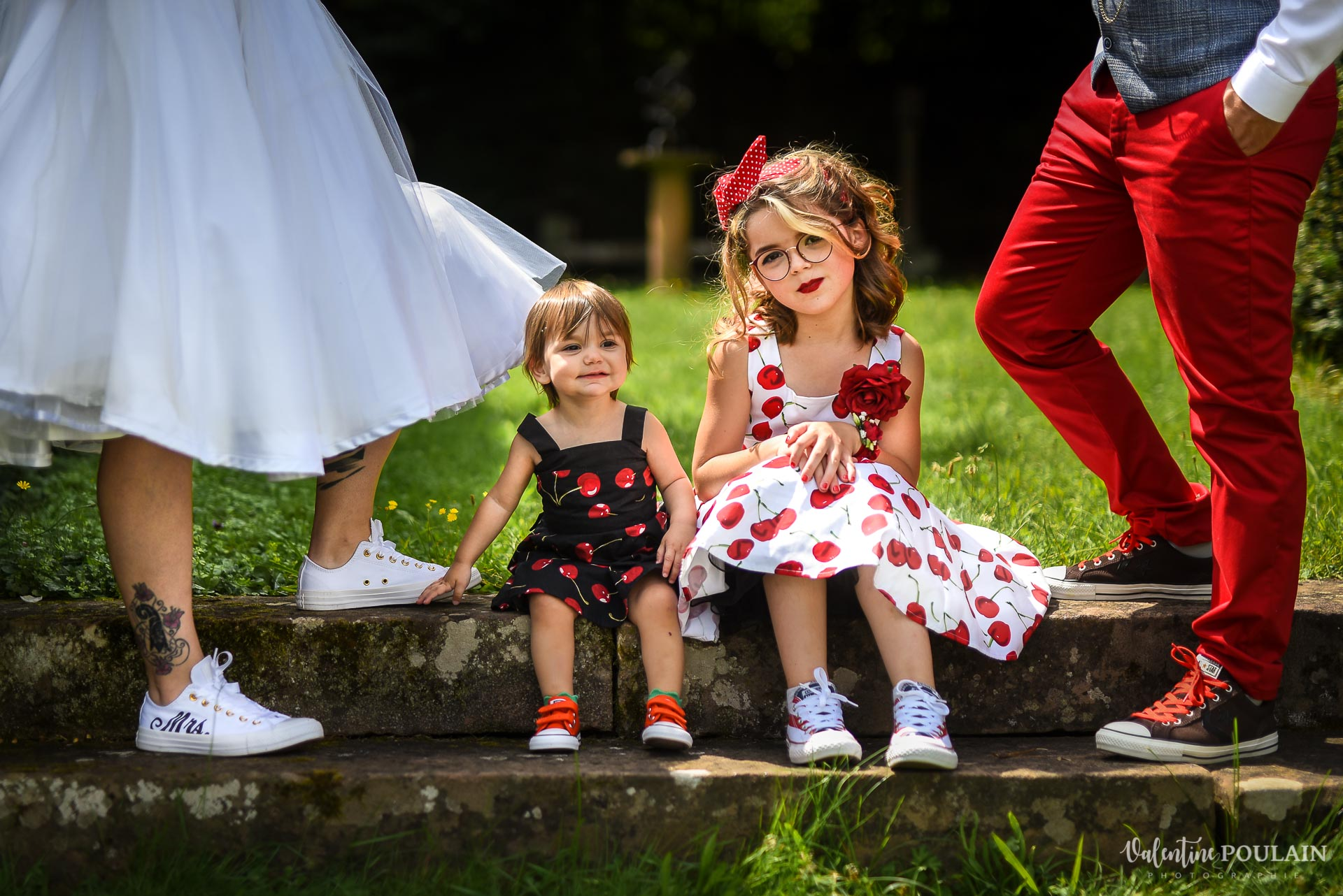 Mariage vintage rockabilly - Valentine Poulain - enfants