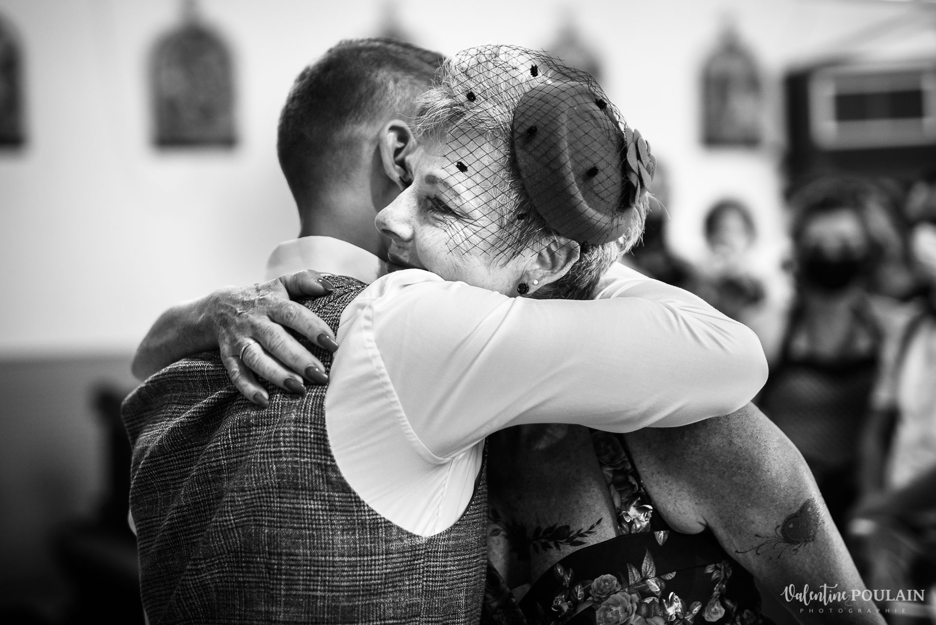 Mariage vintage rockabilly - Valentine Poulain mère