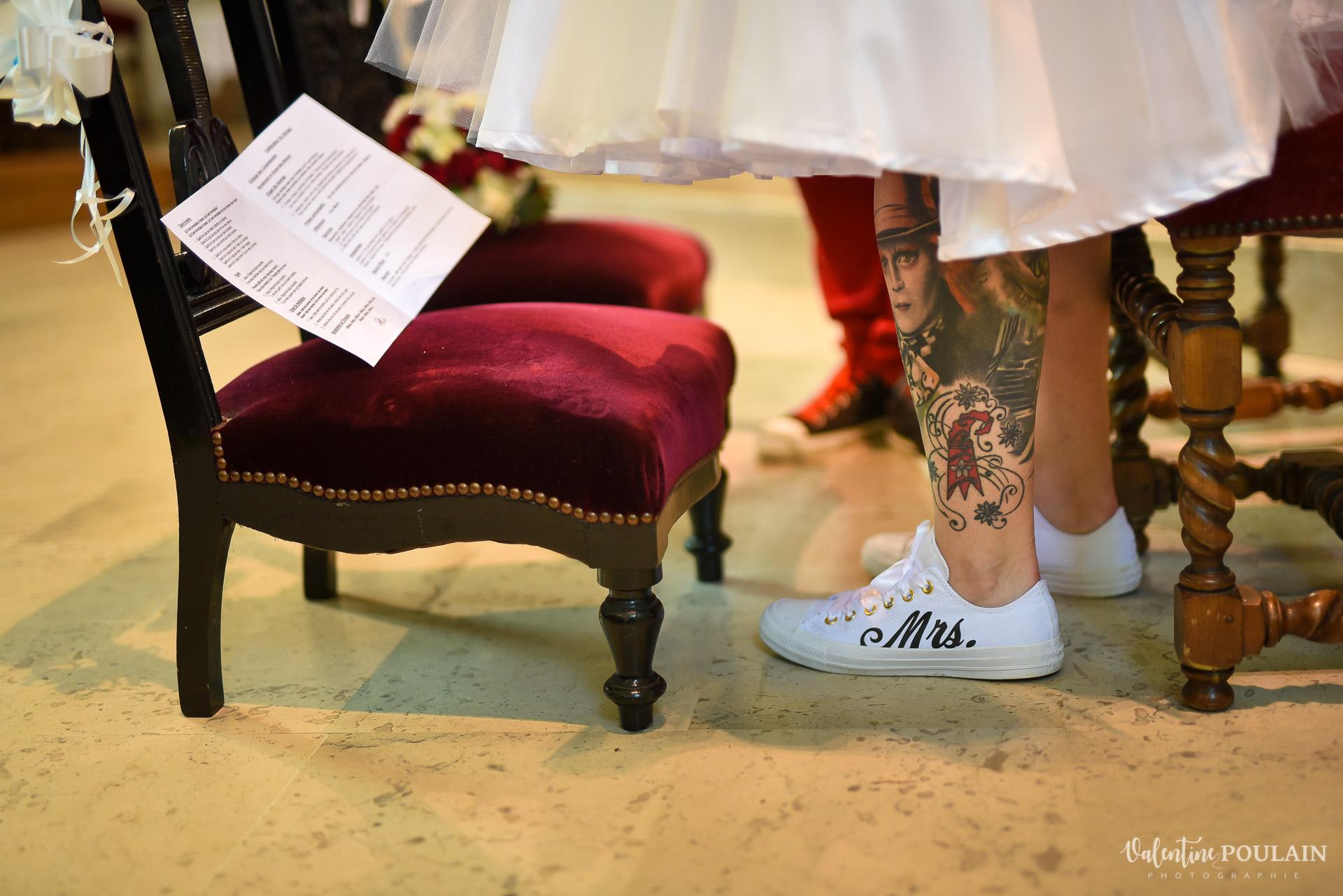 Mariage vintage rockabilly - Valentine Poulain chaussures