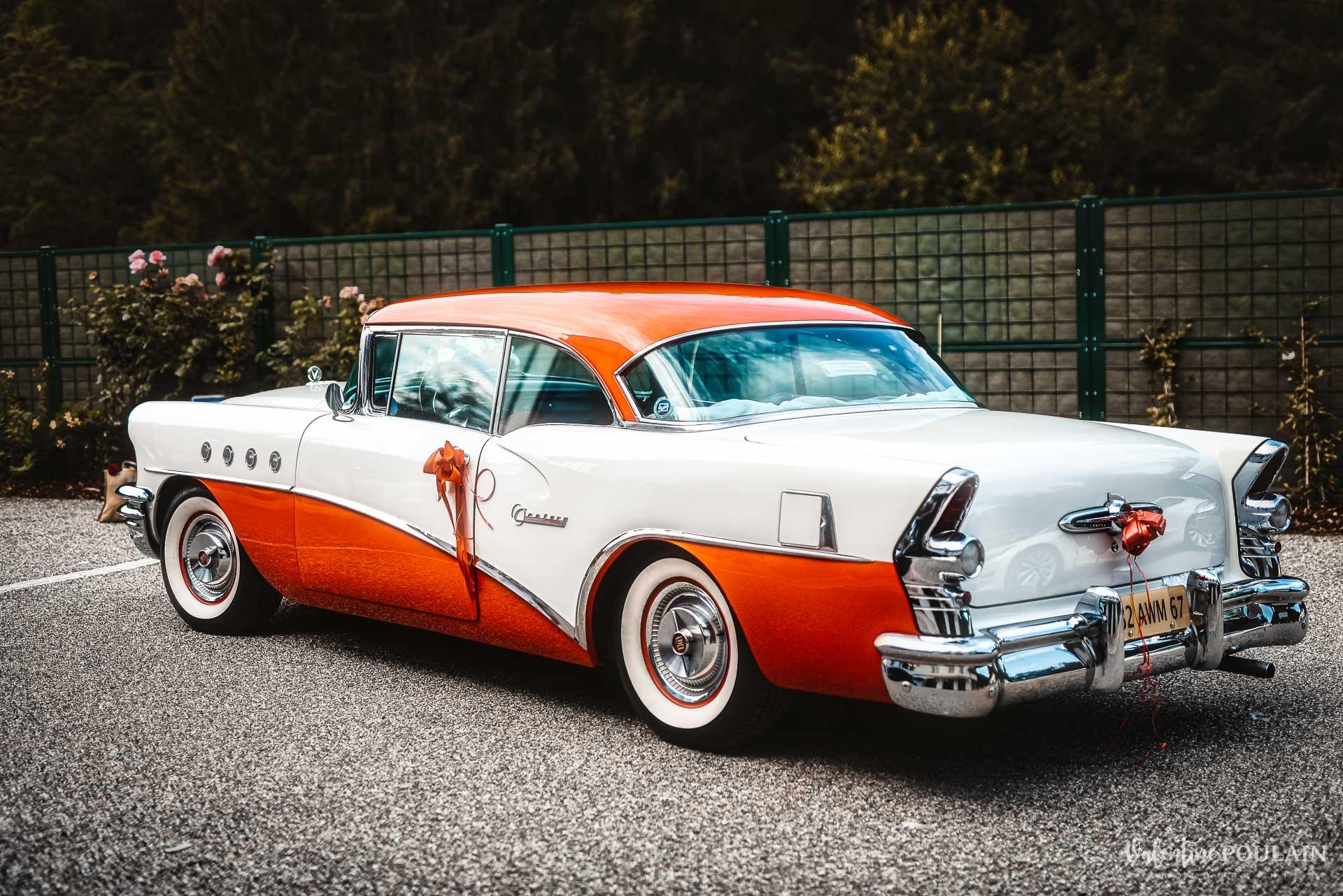 Mariage vintage rockabilly - Valentine Poulain voiture