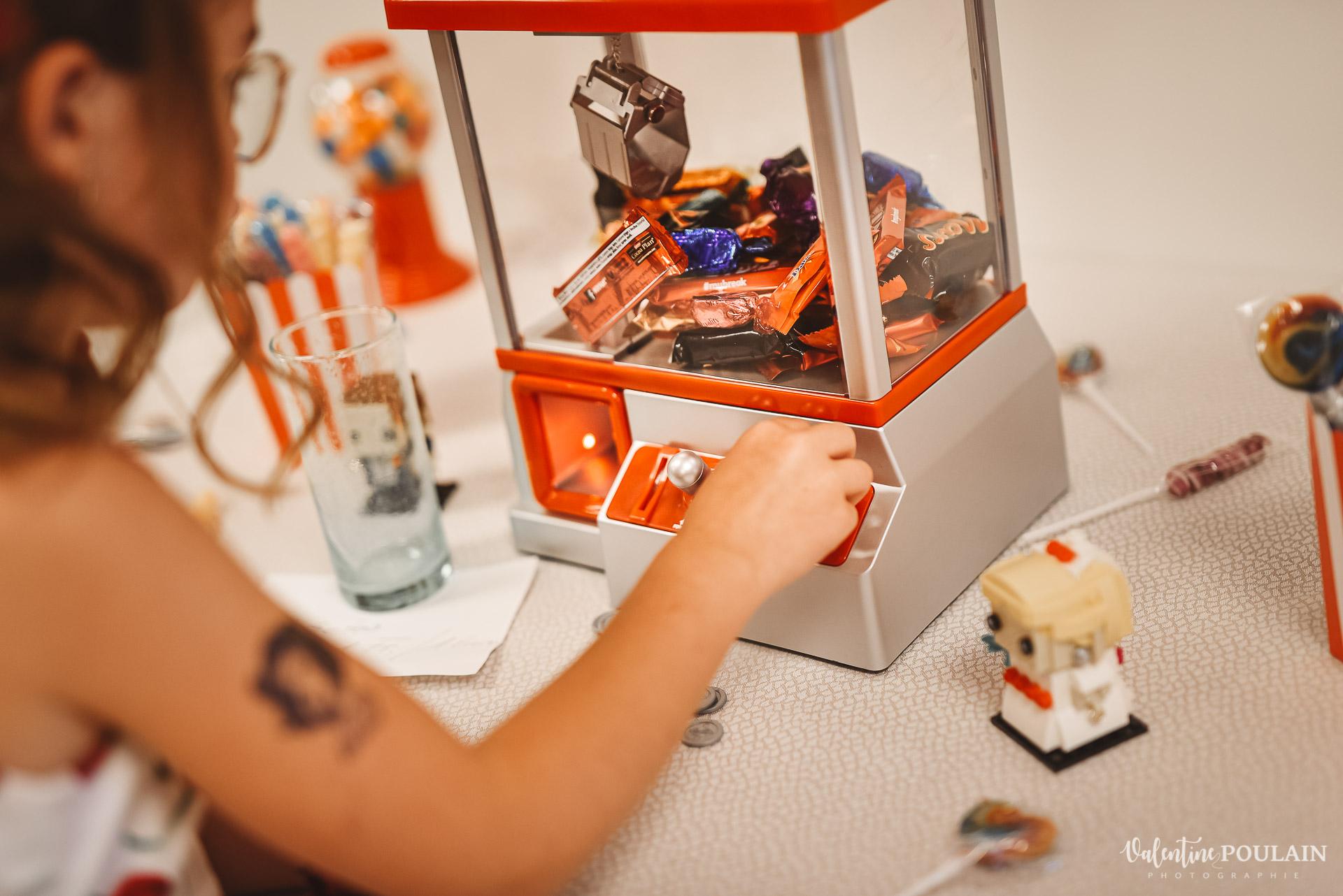 Mariage vintage rockabilly - Valentine Poulain machine
