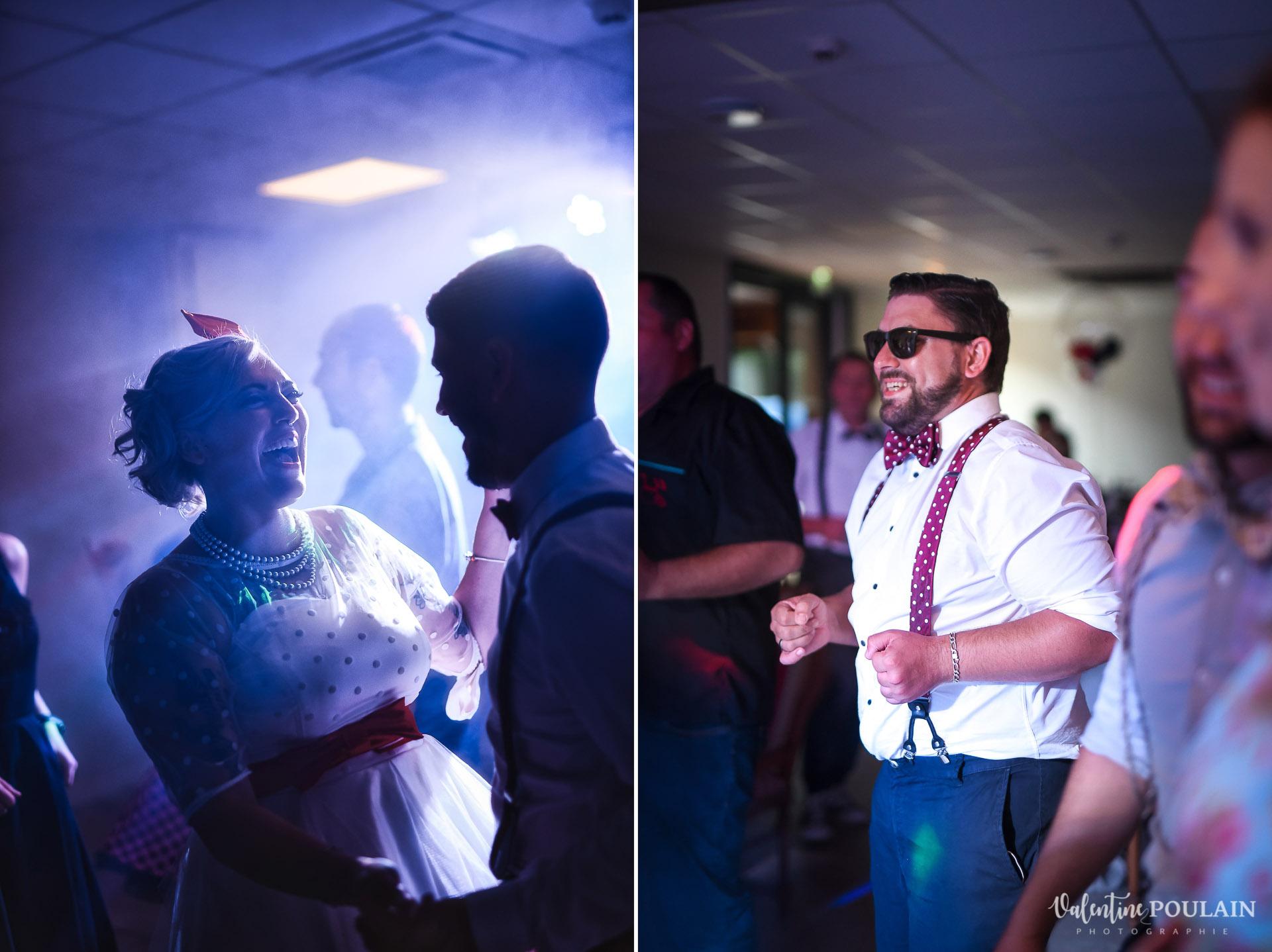 Mariage vintage rockabilly - Valentine Poulain soirée dansante