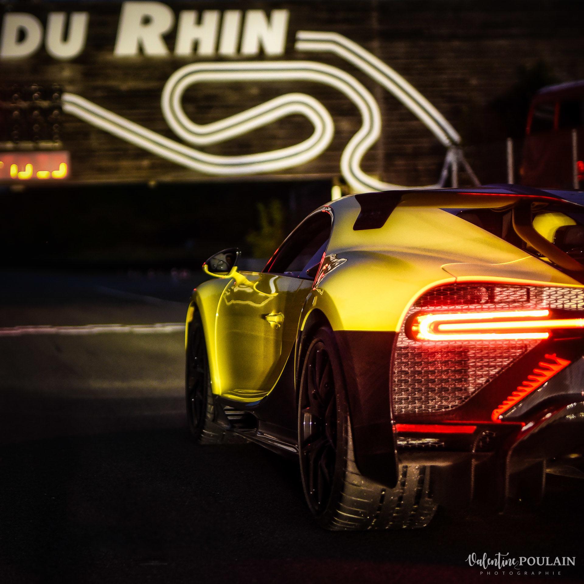 Reportage photo Evenement sportif Bugatti Chiron pur sport -automobile - Valentine Poulain
