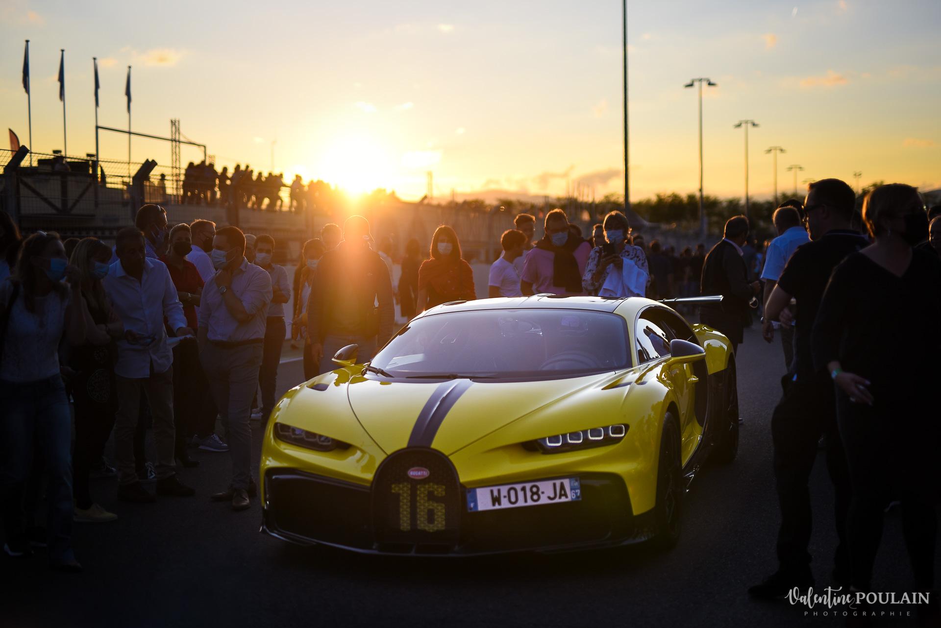 Reportage photo Evenement sportif Bugatti Chiron pur sport -automobile _Valentine Poulain