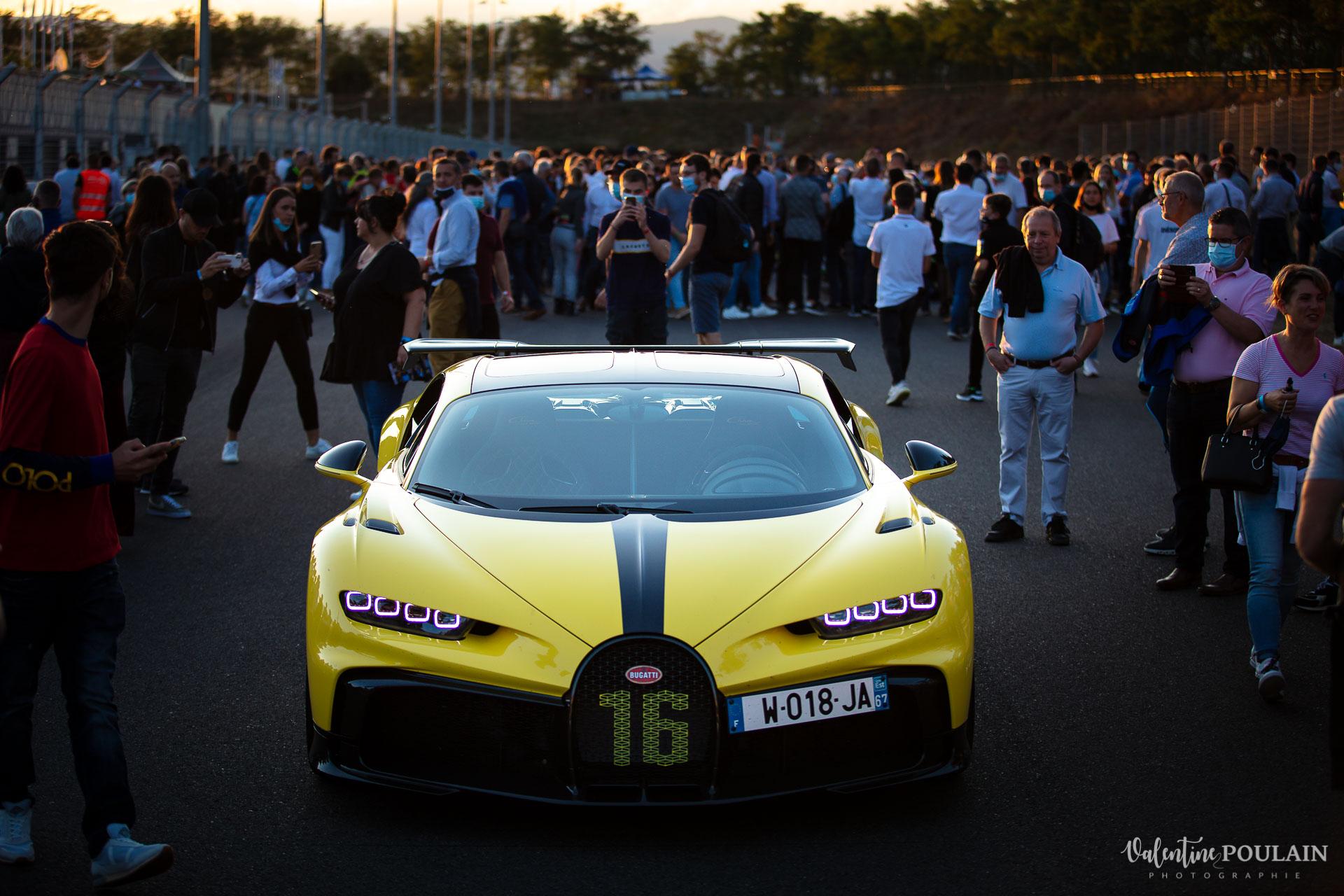 Reportage photo Evenement sportif Bugatti Chiron pur sport -automobile _ Valentine Poulain