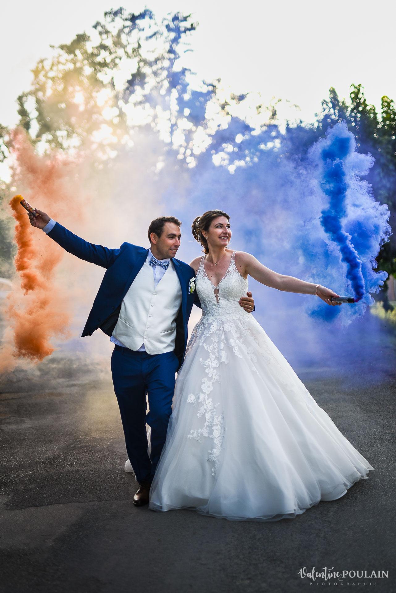 Automne sud se marier hors saison - Valentine Poulain fumigene